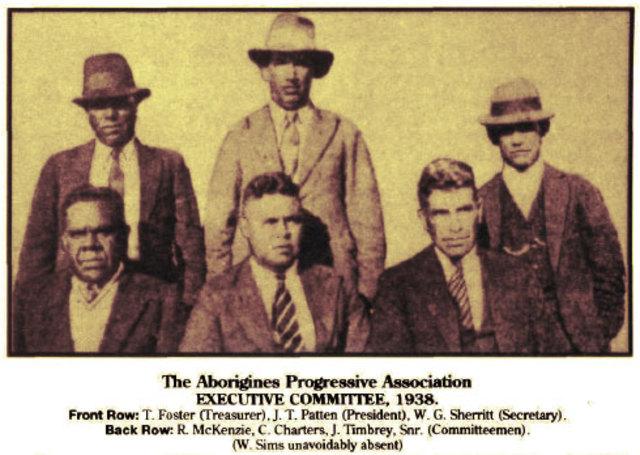 Australian Aborigine's Progressive Association formed