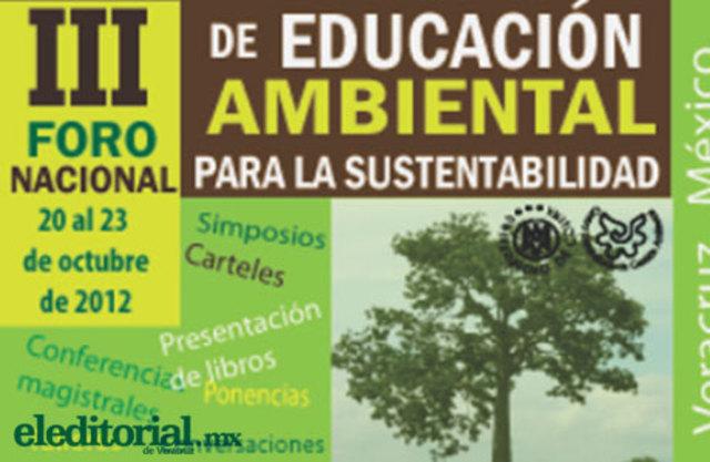 Foro Nacional de Educación Ambiental