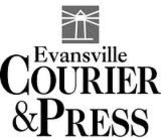 Charming 1) Of Evansville Courier Press Was Printed.
