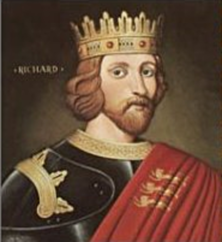 Richard the Lionhearted Becomes English King