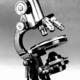 Old light microscope