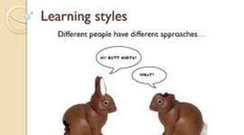 Evolución del concepto de Estilos de Aprendizaje timeline