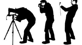 L'évolution de la photographie timeline