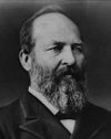 James A. Garfield 20th