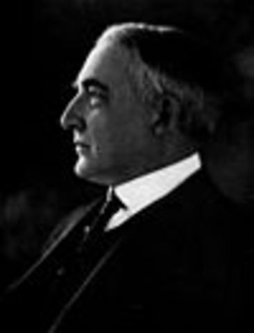 Warren G. Harding 29th
