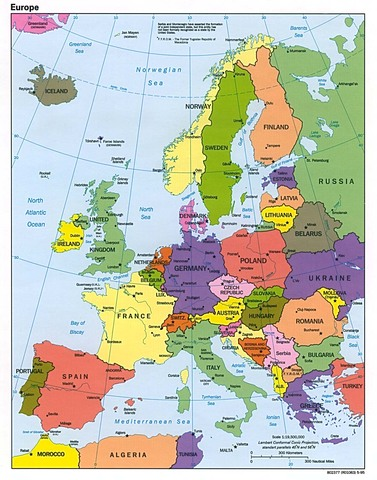 Europe's Population Raises