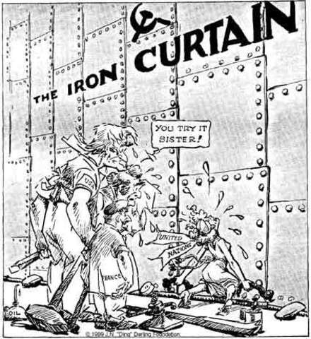Winston Churchill Delivers Iron Curtain Speech