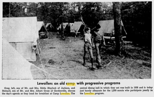 Camp Lewallen History timeline | Timetoast timelines