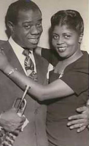 louis armstrong got married again