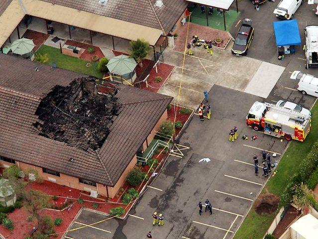 fire at nursing home