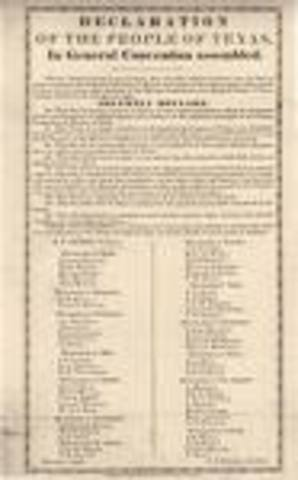 Decleration of 1835