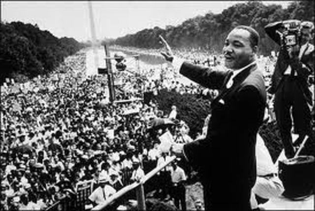 Martin Luther King March of Washington