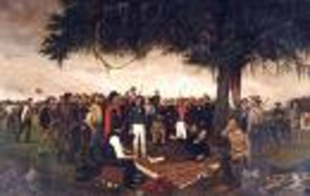 Surrender of Mexican forces in San Antonio