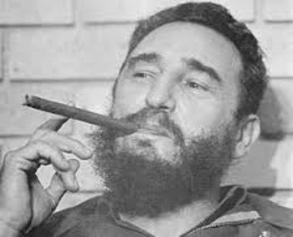 Fidel Castro controls Cuba