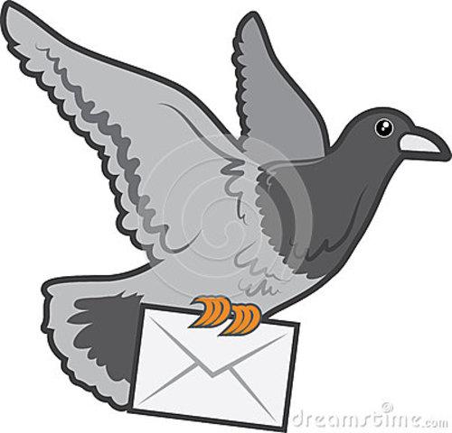 Envío de correo con ayuda de animales