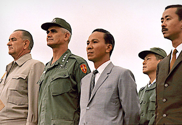 Truman Supports French government in Vietnam