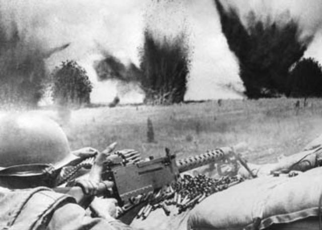 North Vietnamese prevail at Dien Bien Phu