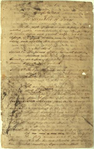 Constitution of 1836
