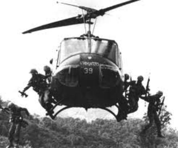 US increased involvement in Vietnam