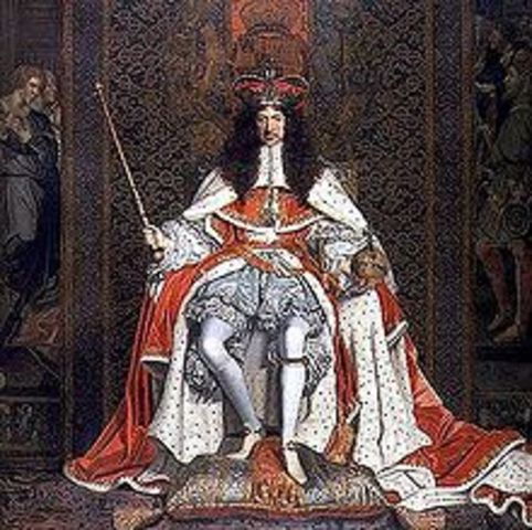 King Charles is born