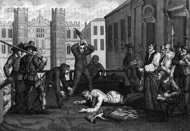 King Charles is beheaded