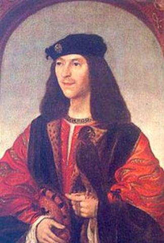 King James becomes new king of england