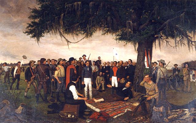 Surrender of Mexican forces in San Antonio