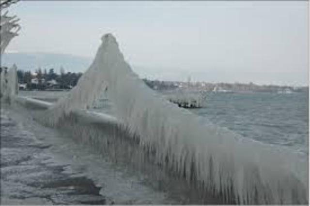 large scale ice storms