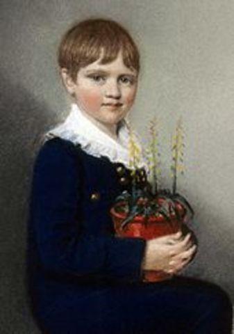 Darwin born