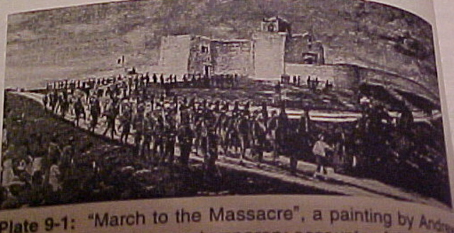 Battle of Refugio/Coleto (Goliad Massacre)