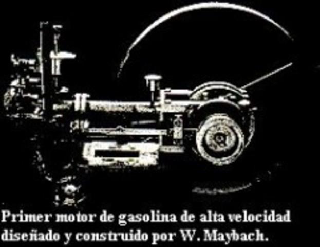 Primer motor de Maybach