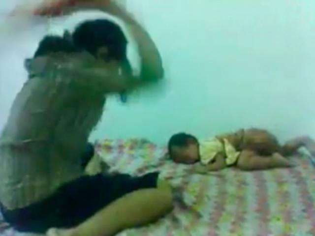 Empleada doméstica es grabada mientras maltrata a bebé de seis meses