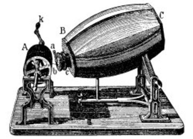 Le phonautographe