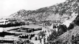 The first day of the Gallipoli Campaign timeline