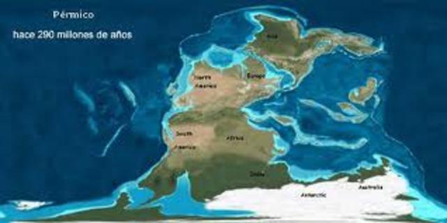 PERÍODO PÉRMICO (280 a 225 millones de años)