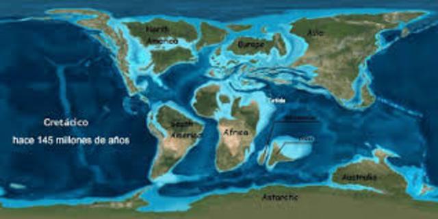 PERÍODO CRETÁCICO (136 a 65 millones de años)