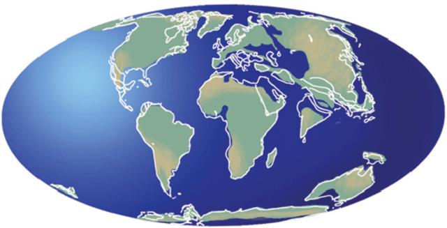 PERÍODO TERCIARIO (65 a 2,5 millones de años)