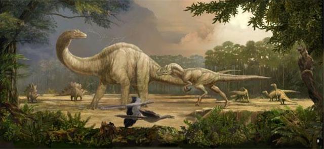 Mesozoico - Jurásico (208 millones de años)