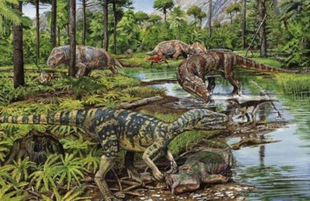 Mesozoico - Triásico (245 millones de años)