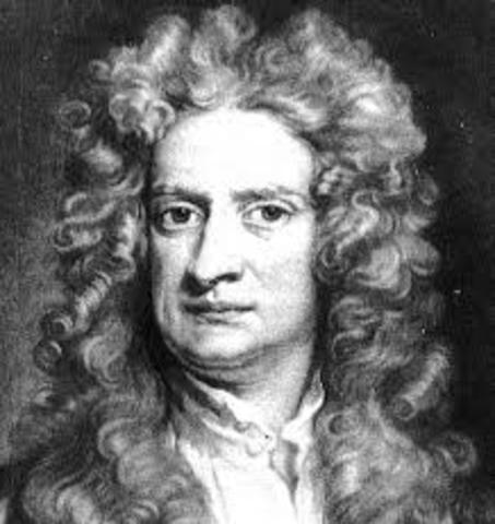 Isaac Newton's death.