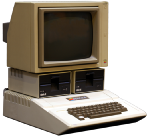 BASIC appeared on the Apple II