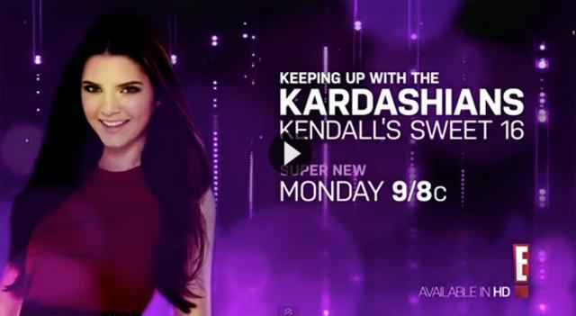 Kendall's Sweet Sixteen