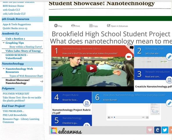 Nanotechnology Research Reflection