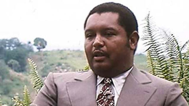 Jean-Claude Duvalier succeeds his father
