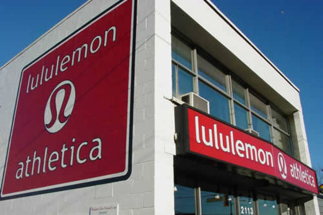 Lululemon's First Appearence