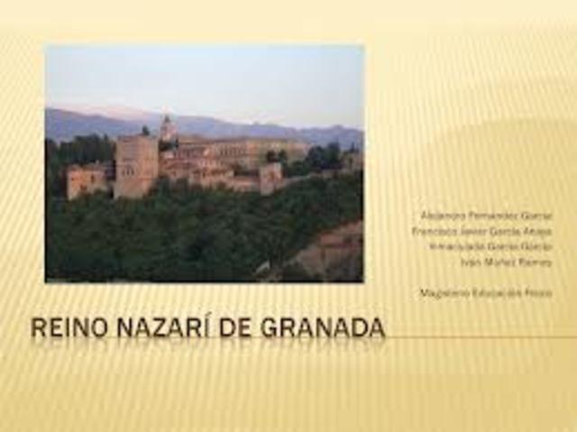 Conquistaron el reino nazarí de Granada