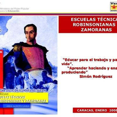 Las ESCUELAS TÉCNICAS en Venezuela timeline