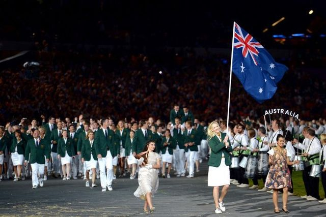 Australia Day spectacle and ceremony