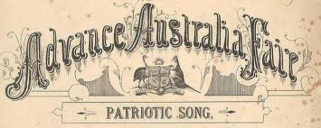 Australian National anthem