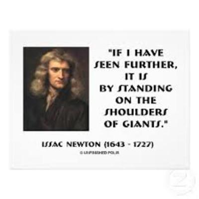 Newton, Leibniz and the Giants timeline
